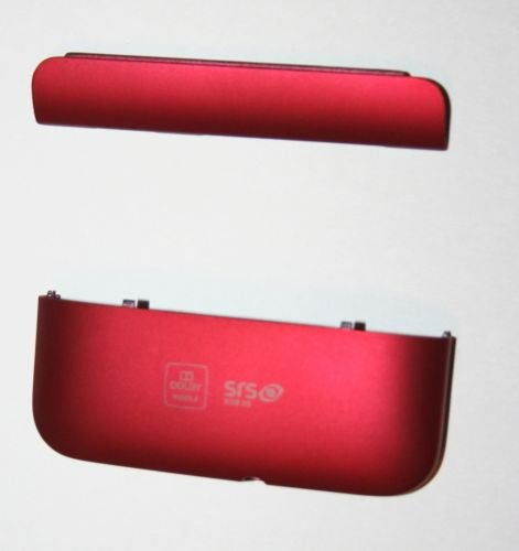 HTC Inspire 4G Red Back Cover Battery Door 2 Piece (Htc Door Battery)