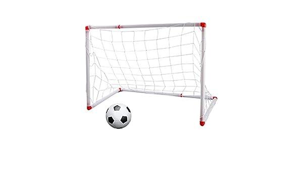 B Blesiya Puerta de Fútbol Portátil Infantil ocn Balón ...