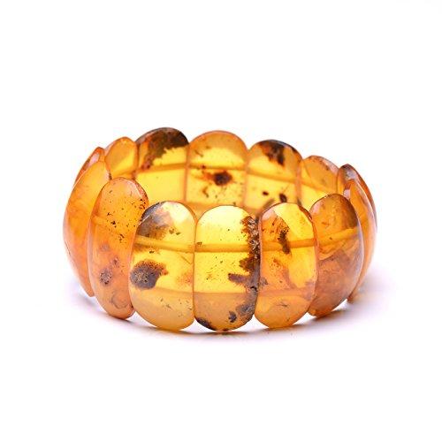 Vintage Amber Bracelet - Unique Amber Bracelet - Certified Handmade Amber Bracelet - Genuine Amber Bracelet by Genuine Amber