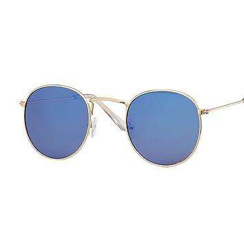 QDE Gafas de sol Gafas De Sol Ovaladas para Mujer/Hombres ...