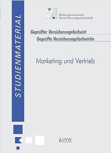 Marketing Und Vertrieb Livre En Allemand 9783899520552