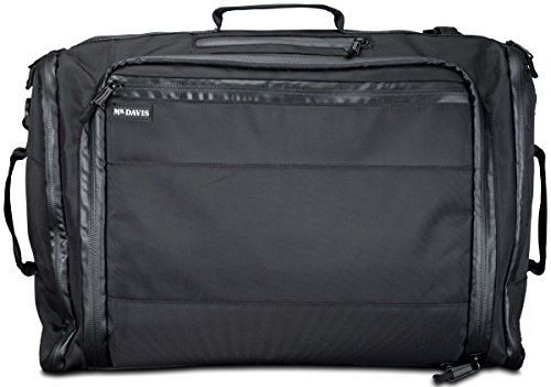 Mr. Davis Continuum One-Bag Travel Carry On Bag with Backpack Mode by Mr. Davis Clothing Company