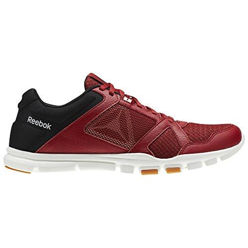 Reebok Yourflex Train 10mt–Chaussures de sport, Homme rouge