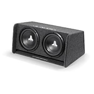 "JL Audio CP212-W0V3 Dual 12"" 12W0v3 Ported Subwoofer Enclosure Box"