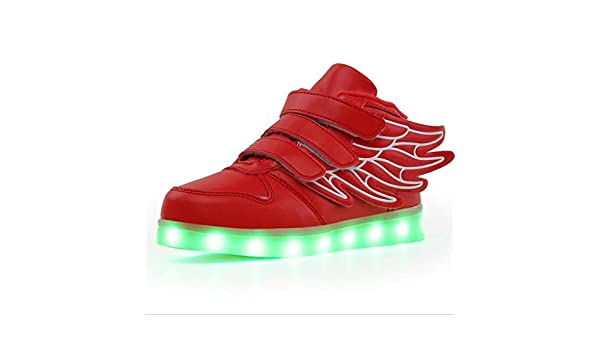 Goodtimeshow USB Charge Glowing Sneaker Girls Shoes boy /& Baby Led Shoes