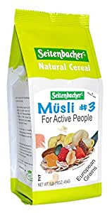 Seitenbacher Musli #3 For Active People 16 Oz (Pack of 3)