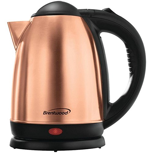 Brentwood 1.7 Liter Rose Gold Electric Stainless Steel Kettle KT-1790RG