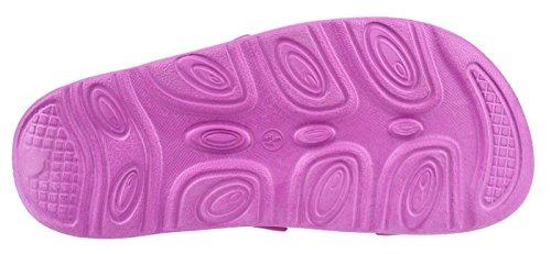 AQUAWAVE Chaussures Spécial Piscine et Plage Pour Femme Violett/Limette wOmpTxImOi