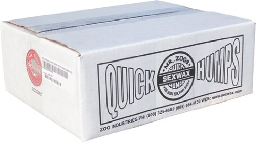 Sex Wax Quick Humps Blue 6X Extra Hard Case of 100 Bars Surf Wax by Quick