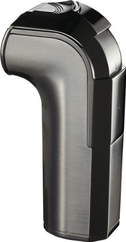 Torch Satin Flame Gun Lighter (Visol Handle Triple Torch Flame Satin Gunmetal Cigar Lighter)