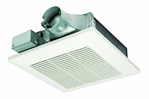 Panasonic fv 05vs1 whispervalue 50 cfm super low profile ventilation fan white built in for Low profile bathroom exhaust fan