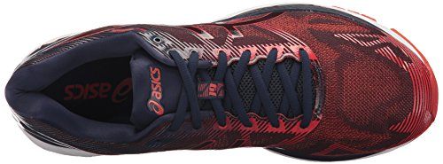 ASICS Men's Gel-Nimbus 19 Running Shoe, Peacoat/Red Clay/Peacoat, 8 Medium US by ASICS (Image #8)