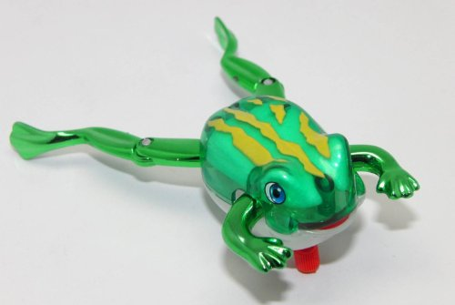 California Creations Z WINDUPS Toy Frog (Swim), Froggy