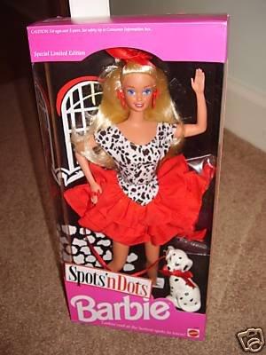 - Spots 'N Dots Barbie