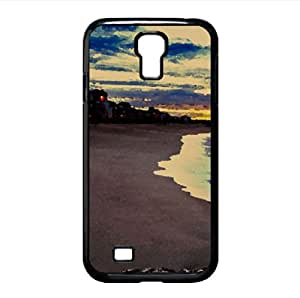 Beach Resort Watercolor style Cover Samsung Galaxy S4 I9500 Case (Beach Watercolor style Cover Samsung Galaxy S4 I9500 Case)