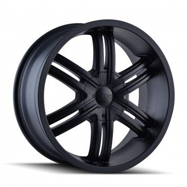 DIP HACK 22X9.5 5X115 / 5X127 MATTE BLACK/MACHINED FACE/MACHINED RING