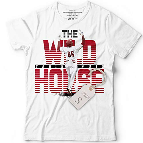 Yasiel The Wild Horse No. 66 Baseball Reds Home Run Hitter Customized Handmade T-Shirt Hoodie/Long Sleeve/Tank Top/Sweatshirt