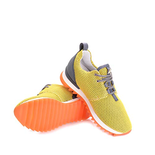 EU 36 Sneakers PATRIZIA Donna Shiny Scarpa PEPE 2V6281 Yellow wqqBxF08t