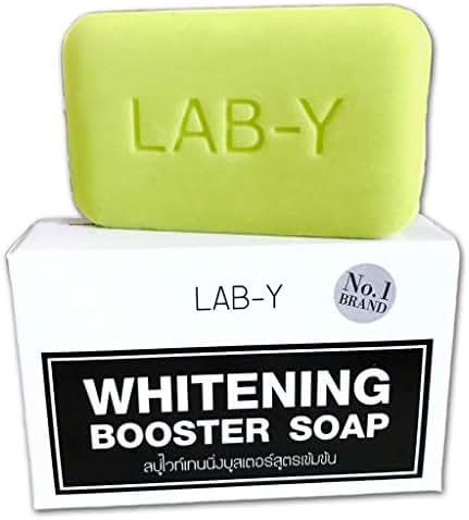 1 Bar: Lab-Y Whitening Booster Lightening Beauty Skin Anti Ageing Bar Soap Skin Bikini,whitening with Collagen,White Body Skin Lightening Bleaching Dark Speed White White Remove Dead Skin Cells.100g