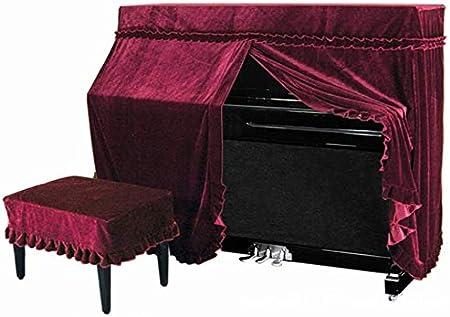 Funda vertical para piano con cordón para proteger también la ...