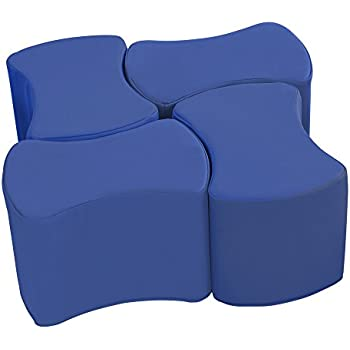 Amazon Com Ecr4kids Softzone Carry Me Floor Cushions For