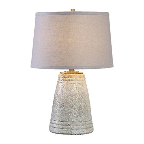 Aged Ceramic Table Lamp - 5