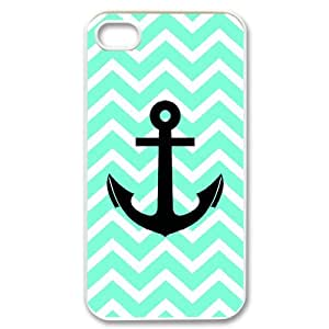 PCSTORE Phone Case Of Chevron Anchor for iPhone 4/4S