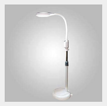 Luces de Piso Lámpara de pie Lupa LED Manicura Pestaña ...
