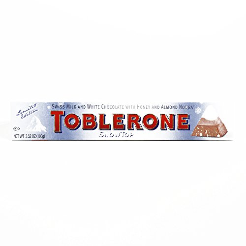 Limited Edition Toblerone Snowtop Bar 3.5 oz each