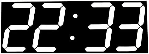 Large Digital Wall Clock Modern Design Display Countdown Calendar Temperature Alarms Wall Watch
