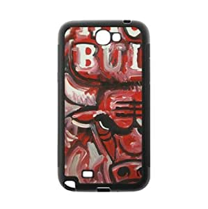 Chicago Bulls TPU Phone Case for Samsung Galaxy Note 2-by Allthingsbasketball