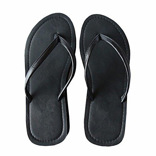 estate fondo YMFIE Ladies' spesso ciabattine e 37 sandali 35 scivolosa AawPvSwWfq