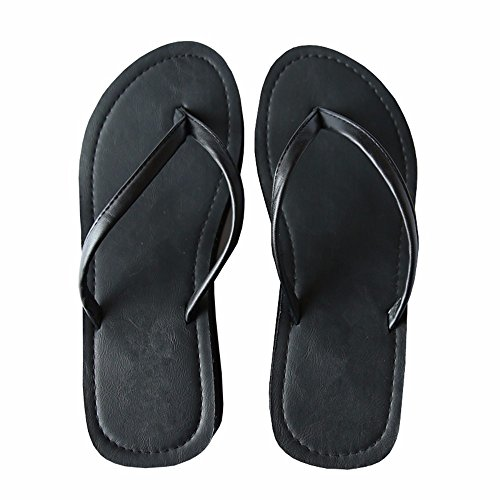 fondo 37 e Ladies' YMFIE scivolosa estate spesso ciabattine sandali 37 E4Bw1pq