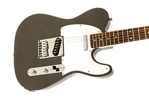 squier by fender affinity telecaster beginner electric guitar rosewood fingerboard gun metal. Black Bedroom Furniture Sets. Home Design Ideas