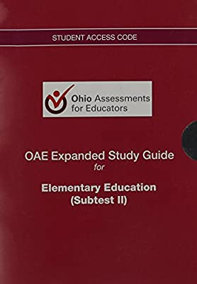 OAE Expanded Study Guide -- Access Code Card -- for Elementary Education (Subtest II)