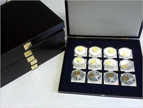 Euro Coinages Sammlung Von 52 Münzen In Plastikhülle Amazonde