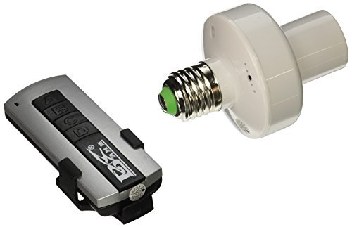 2pack 20M E27 Control remoto inalmbrico soporte de luz interruptor de la toma