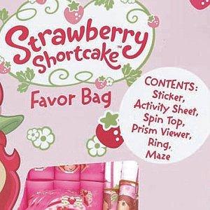 Strawberry Shortcake Birthday Party Supplies - 6 Piece Favor -