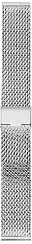 Hadley Roma MB3846RWSE 20 White Metal Watch Band