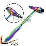 LAJA Imports Tromner Reflex Hammer,neurological,Diagnostic, Instruments Multi Rainbow Color