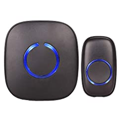 SadoTech Model C Wireless Doorbell, Easy...