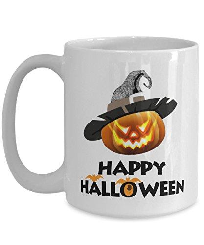 31 Halloween Costume Ideas (Great Gift For Halloween - Happy Halloween Coffee Mugs - 11oz 15 oz Ceramic Novelty Double Wall C-Shape Handle Tea Cups - Best Halloween Costumes Gifts Idea for Womens Men, Kids - 31st October)