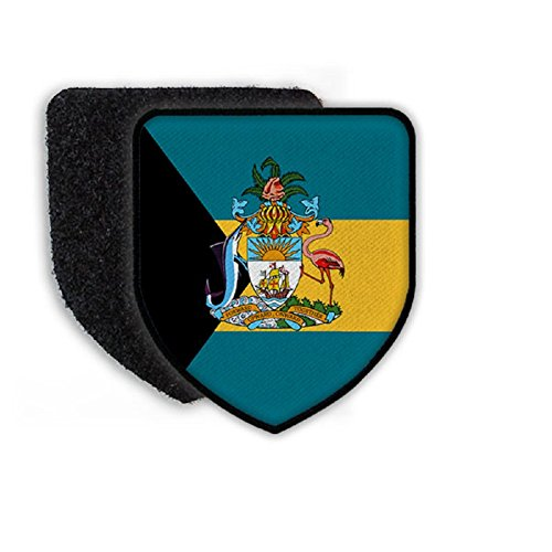 Flag of Bahamas country national coat of arms - Patch/Patche