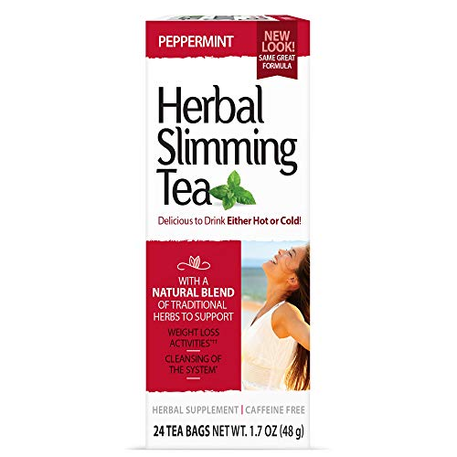 21st Century Slimming Tea, peppermint, 24 bags