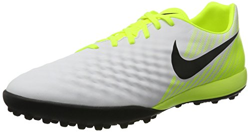 vert Ii pure Bianco white black Onda Nike Uomo Volt Calcio Magistax Scarpe Tf Platinum Gris Da OFfxfn