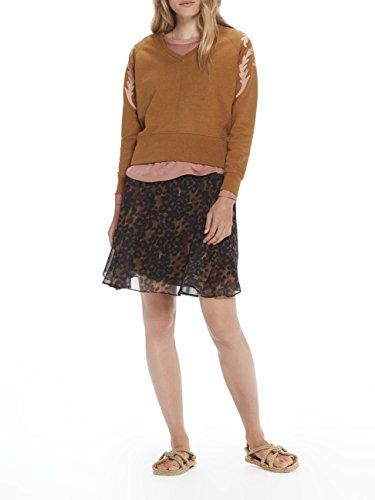 Scotch Short amp; Soda Drapey 20 Printed Skirt D small Falda Para combo X Marrón Maison Mujer rtBrgqw