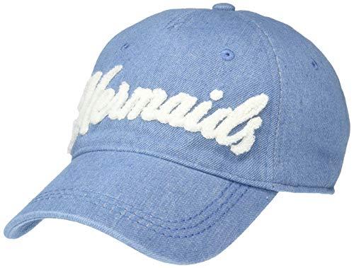 Roxy Big Little Mermaid Dear Believer Girl Baseball Hat, Medium Blue wash, 1SZ (Roxy Cap For Girls)