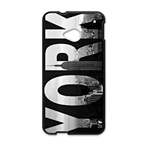 HTC One M7 Cell Phone Case Black NewYork Sign E7T8IT