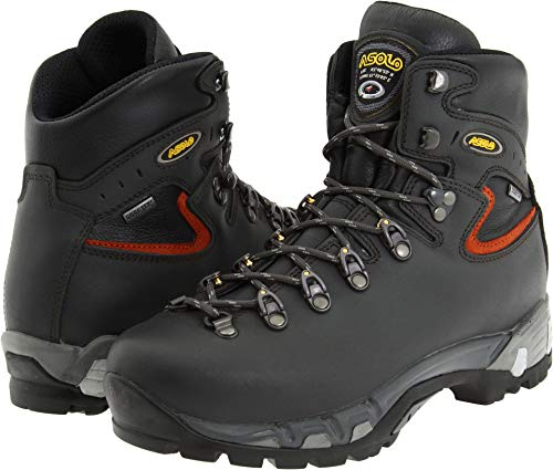 Lightweight Backpacking Boots - Asolo Power Matic 200 GV Backpacking Boot - Men's-Dark 0M2210-DARK Graphite -10.5