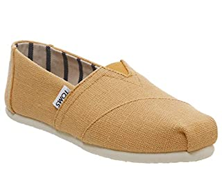 Toms Women's Classic Heritage Canvas Orange Mist Ankle-High Slip-On Shoes - 7M (B071GMBTLH) | Amazon price tracker / tracking, Amazon price history charts, Amazon price watches, Amazon price drop alerts